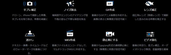 VideoProc動画編集ツールボックス