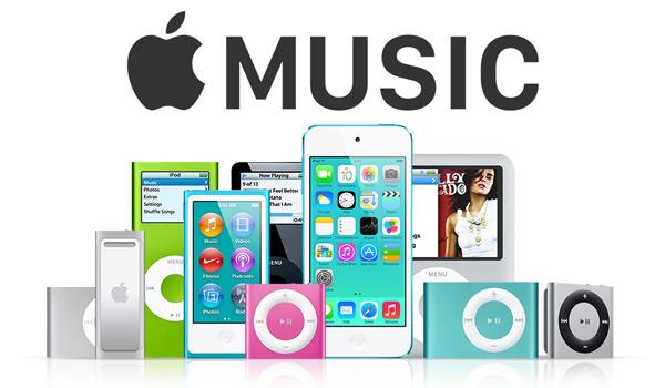 Apple Musicを全てのiPodに転送