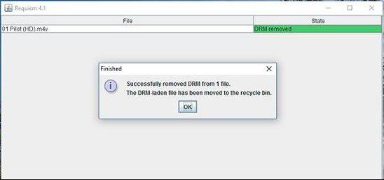 DRM解除フリーソフト:Requiem