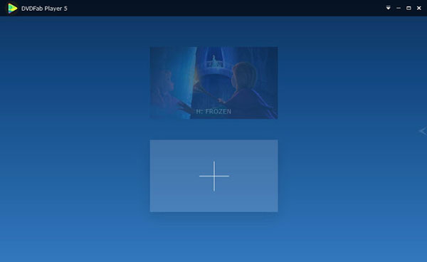 Blu-ray/DVDソースをDVDFab Playerに追加