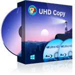 DVDFab UHD コピー