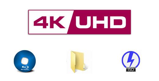 4K UHDを他の形式にコピー