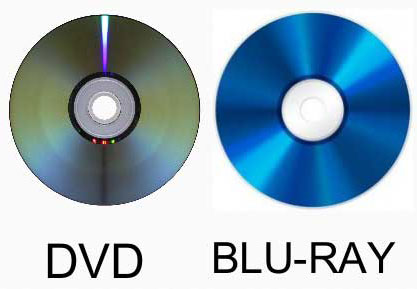 DVD/BDの見分け